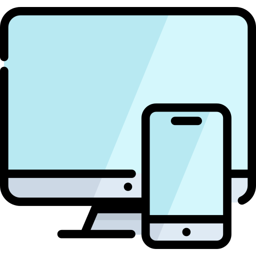 Monitor Responsive Png Icon