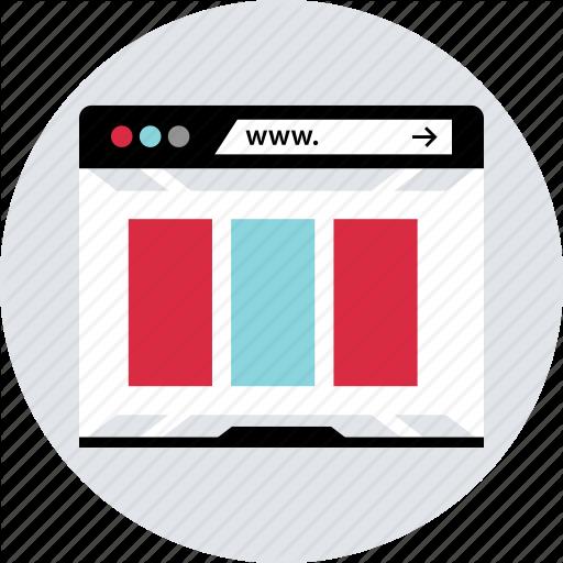 Browser, Design, Internet, Online, Responsive, Web Icon
