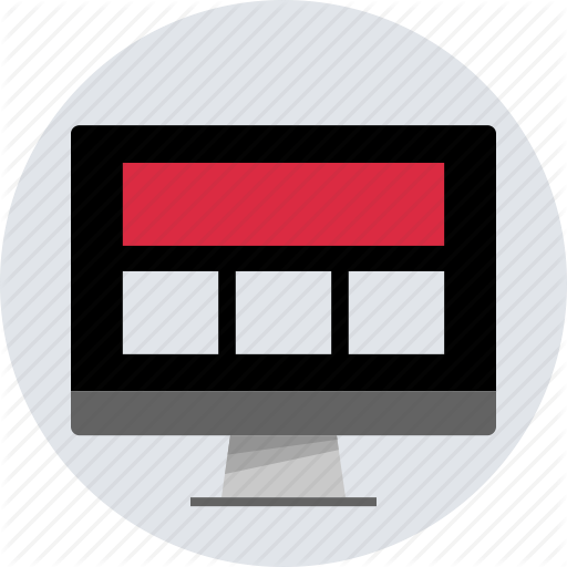 Design, Layout, Page, Responsive, Web, Website Icon