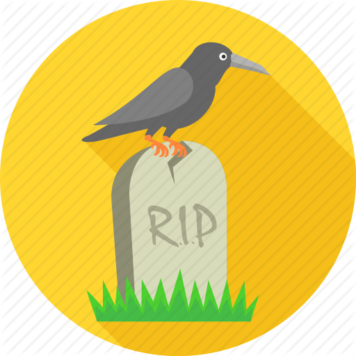 Cemetery, Crow On Grave, Dead, Death, Graveyard, Rest In Peace