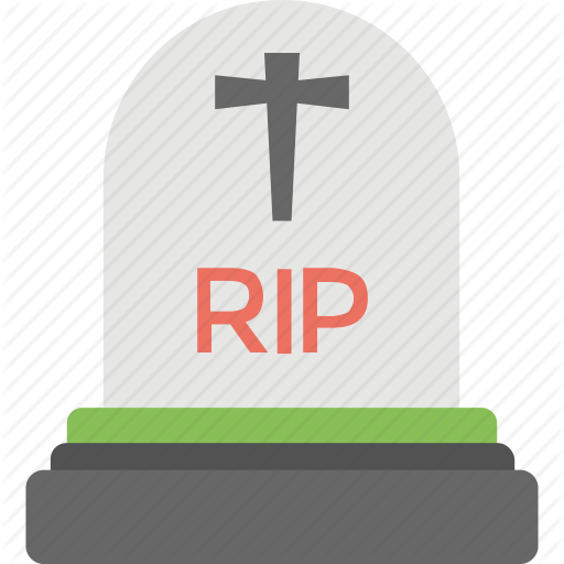 Cemetery, Death, Graveyard, Rest In Peace, Rip Icon