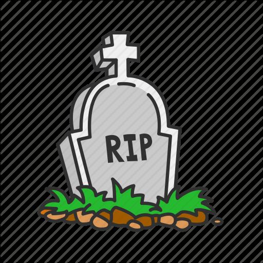Dead Person, Halloween, Rest In Peace, Rip Icon