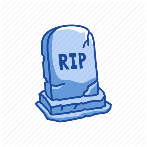 Grave, Halloween, Rest In Peace, Rip, Tombstone Icon