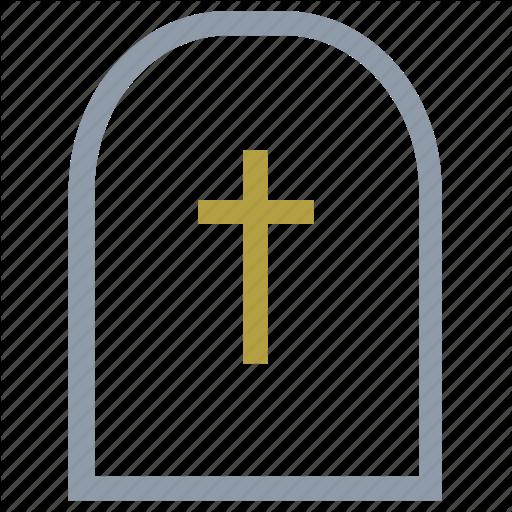 Gravestone, Graveyard, Headstone, Rest In Peace, Tombstone Icon