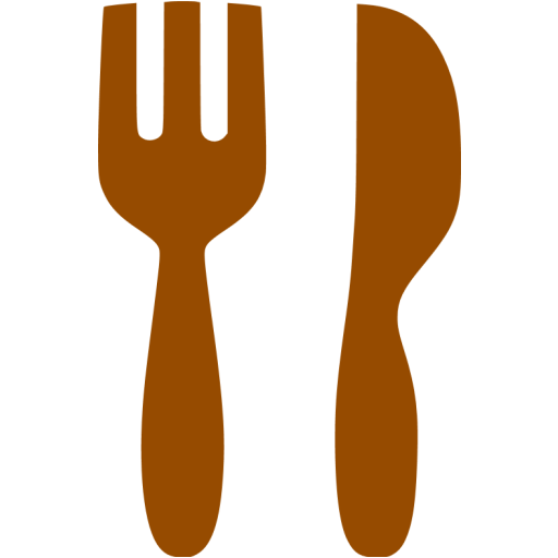 Brown Restaurant Icon