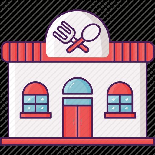 Building, Cafe, Restaurant Icon