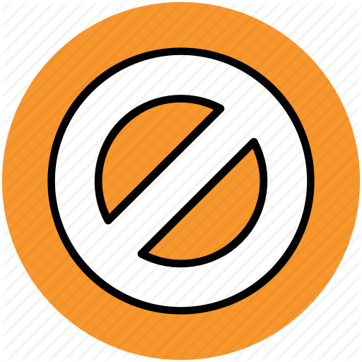 Ban, Forbidden, Forbidden Sign, Prohibited, Restricted Icon