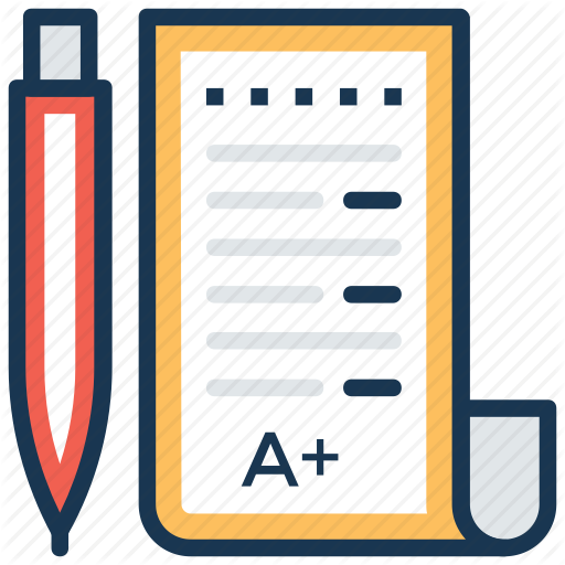 A Grade, A Plus, Exam Result, Good Grades, Test Results Icon