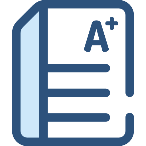 , Exam, And Folders, Test, Education, Result, Results Icon