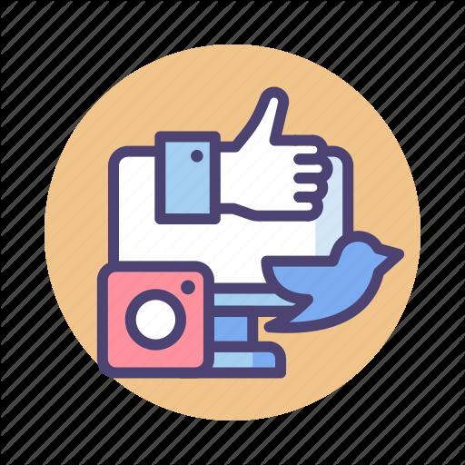 Collaboration, Media, Social, Social Media Icon