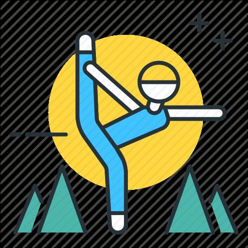 Retreat, Yoga, Yoga Retreat Icon