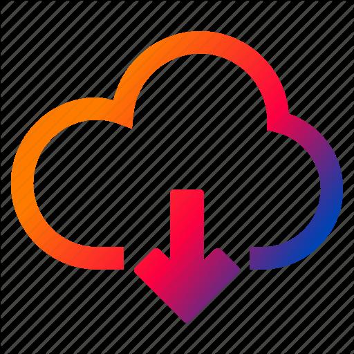 Cloud, Download, Interface, Internet, Retrieve Icon
