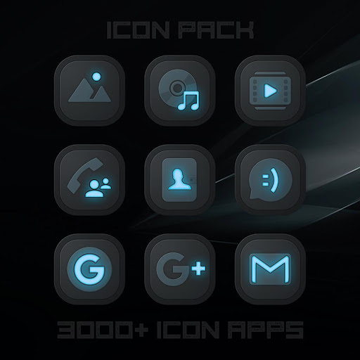 X Neon Icon Pack Latest Version Apk