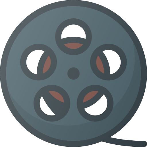 Film, Strip, Roll, Movie, Retro Icon Free Of Free Set Color Outline