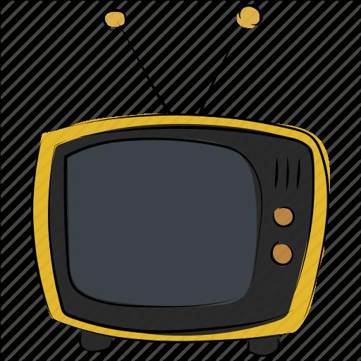Old Tv, Retro Tv, Television, Tv, Tv Set, Vintage Tv Icon