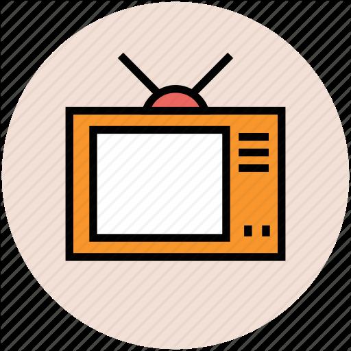 Old Tv, Retro Tv, Television, Tv, Vintage Tv Icon