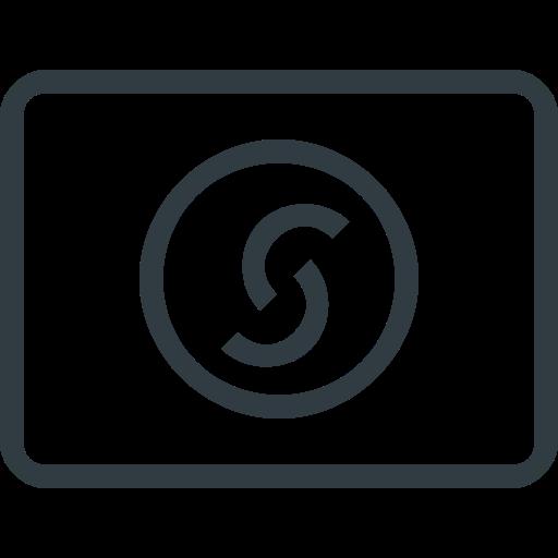 Solo, Credit Card, Straight Icon