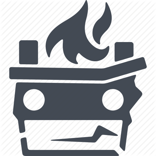 Arson, Fire, Flame, Revolution Icon