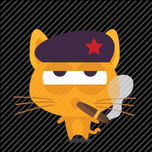 Cat, Emoji, Revolution Icon