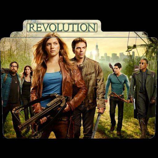 Revolution Icon Tv Movie Folder Iconset Aaron Sinuhe