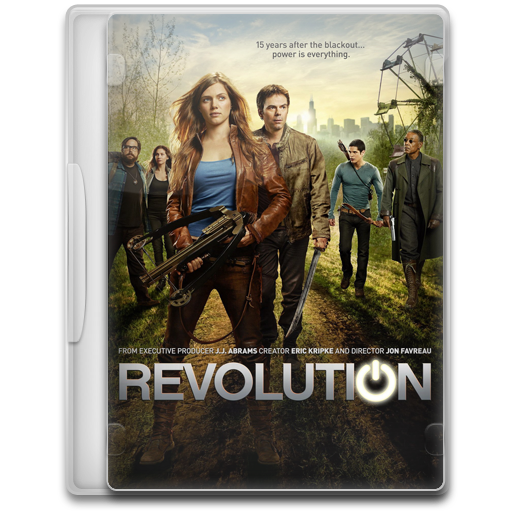 Revolution Icon Tv Show Mega Pack Iconset