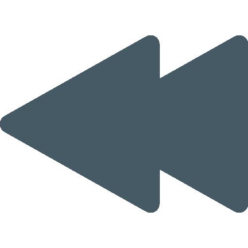 Rewind Icon Music Pixel Perfect