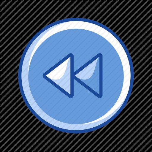 Back, Pointer, Remote Button, Rewind Icon