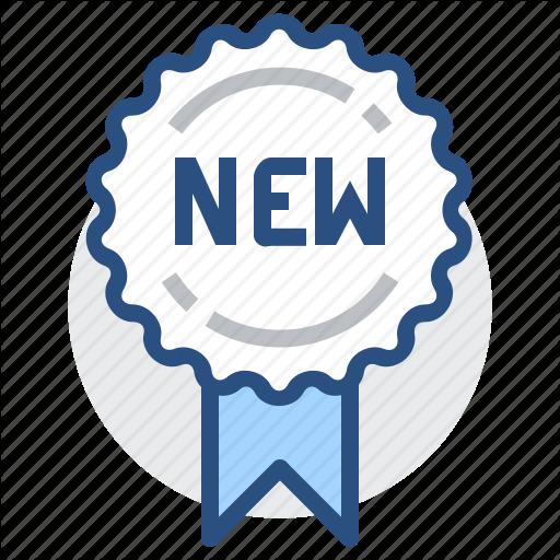 Badge, Label, Medal, New, Ribbon, Tag Icon