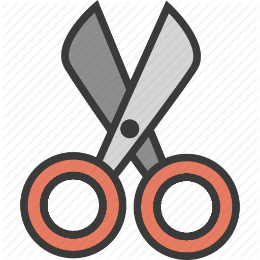 Cut, Cutting, Design, Scissor Icon
