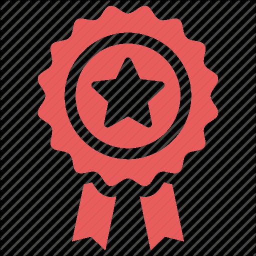 Achievement, Award, Best Quality, Guarantee, Ribbon Icon