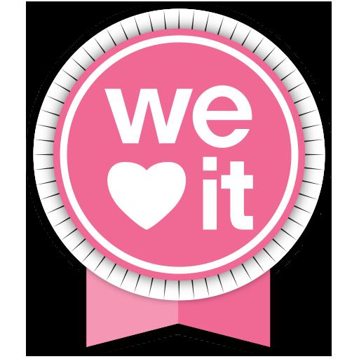 Weheartit Round Ribbon Icon