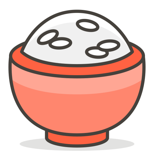 Cooked, Rice Icon Free Of Free Vector Emoji