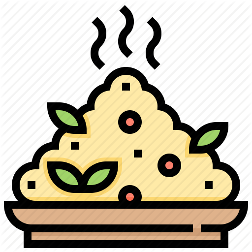 Dish, Eat, Food, Meal, Rice Icon