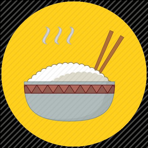 Food, Rice Icon