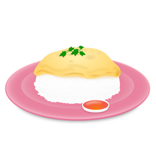 Omelet Rice Icon