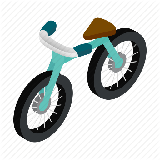 Bicycle, Bike, Cycle, Isometric, Leisure, Mountain, Ride Icon