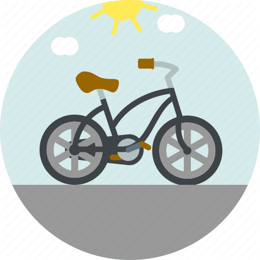 Bicycle, Bike, Motor, Ride Icon