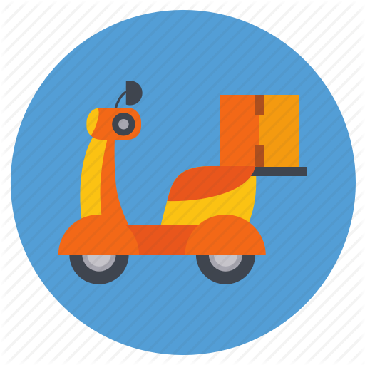 Bike, Delivery, Ecommerce, Ride Icon