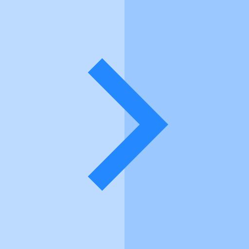 Right Arrow, Orientation, Multimedia Option Icon