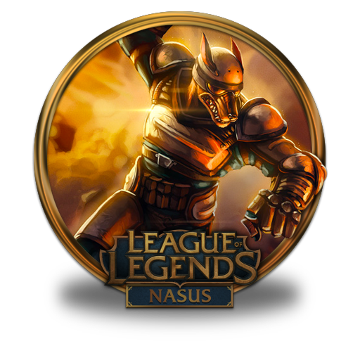 Nasus, Riot, K, Icon Free Of League Of Legends Gold Border Icons