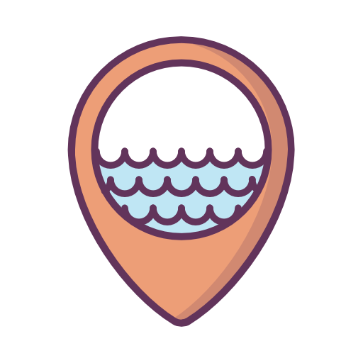Location, Sea, Water, River Icon Free Of Location Icons