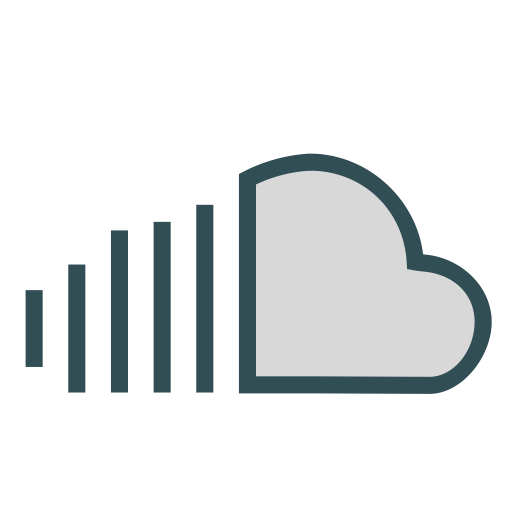 Cloud, Share, Network, Storage, Brand, Sound Icon Free Of Brands