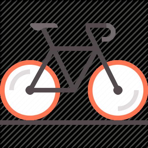 Bicycle, Bike, Racing, Road Icon