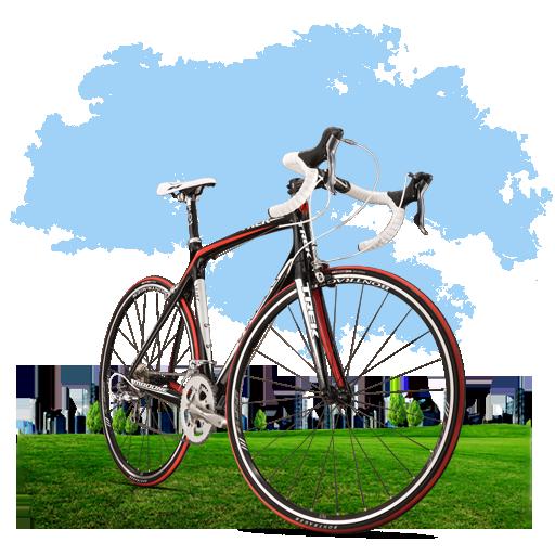 Travel Bicycle Icon My Seven Iconset Itzik Gur