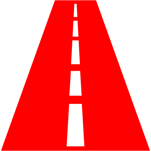 Red Road Icon