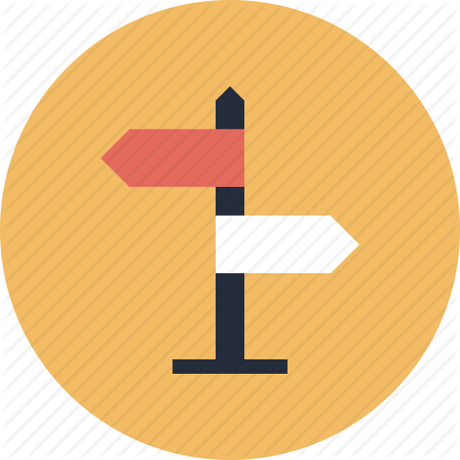 Road Direction Icons No Attribution