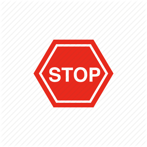 Road Sign, Sign, Stop, Traffic Sign Icon