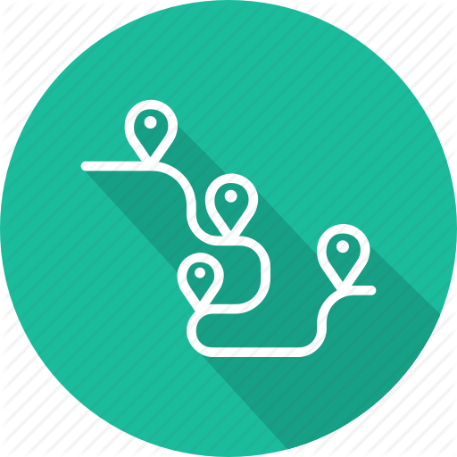 Business, Management, Planning, Product, Roadmap Icon
