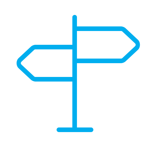 Roadmap, Arrow, Navigator, Navigation, Map, Pointer Icon