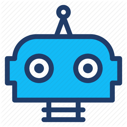 Automatic, Cute, Head, Robot Icon